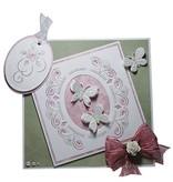 Joy!Crafts und JM Creation Corte y repujado plantilla stencil múltiples bordado!