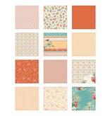 DCWV und Sugar Plum Designer blok, Coral Couture papirstakken