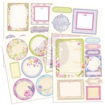 Chipboard stickers, Prima Marketing - Copy