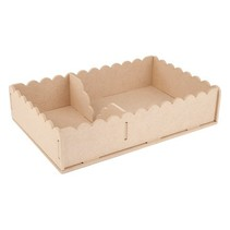 Handcraft Kits MDF, container napkins 29 x 19 x 6cm