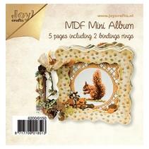 Tricot Kits MDF, MDF livre 4x plus dense / 1x cadre ouvert