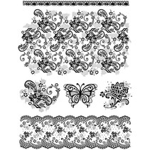 Clear stamps