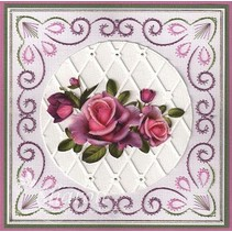 Punching and embossing templates: Trellis frame