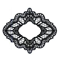 Gummistempel, kreative udtryk, Delicate Lace (Lace)