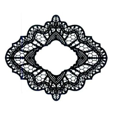 Creative Expressions Gummistempel, kreative udtryk, Delicate Lace (Lace)