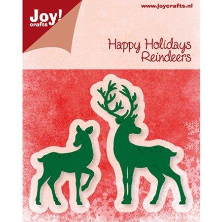 Joy!Crafts und JM Creation Joy Crafts, presning og prægning mappe, rensdyr