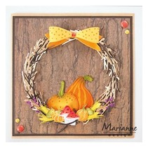 Cutting & Embossing Templates: Wreath
