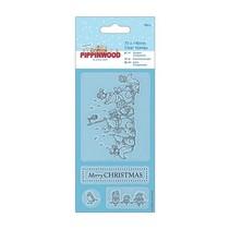 Transparent stamp, Pippinwood Christmas