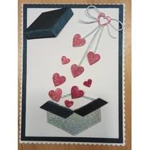"Cutting meurt: ""arc de coeur"" boucle cardiaque"