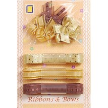 Collection: Ribbon and Typ of grinding shades of brown,