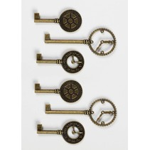 Shabby Chic Metal Clock Taster
