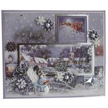 Luksus Topper sæt til at designe forskellige julekort