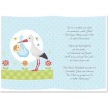 5 papiers transparents, feuille A5, poèmes garçons à la naissance