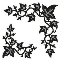 Marianne Design, poinçonnage et modèle de gaufrage Craftables - Ivy coin