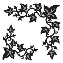 Marianne Design, punching and embossing template Craftables - Ivy corner
