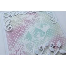 Glace papir, A4 2x8 designs