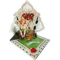 PK9097 Vintage Christmas papier Bloc