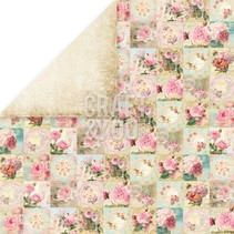 """Designer papir """"Tea Time"""", 30,5 x 30,5 cm"""