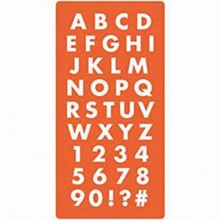 ModPodge Mod Podge, molde de silicona de letras y números