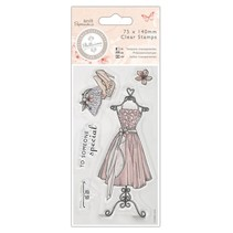 Clear stamps, Robe - Bellisima