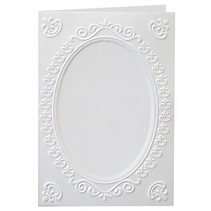 3 cards with embossed frame A6