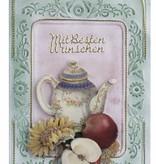 KARTEN und Zubehör / Cards 3 cartes avec A6 cadre de relief