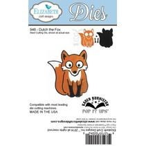 """NYHED: Metal opskæring dør, Elizabeth Craft design, """"Dutch Fox"""" af Karen Burnisto"""