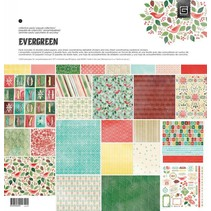 Bloc Designers, Basic Grey - Evergreen - Collection Pack