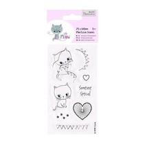 Clear stamps, chaton mignon, Little Meow - Quelqu'un spécial