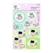A4 Decoupage Pack - Petit Meow - Gâteaux