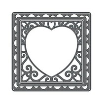 Tonic, y el estampado de la plantilla, la plaza con el corazón, la base de ponche, 2 Plantilla