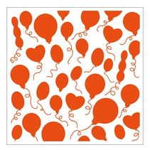 1 prægning mapper 12,3x12,3 cm ballon
