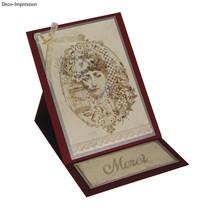 Stamp A6: Mlle Austen, 140x110mm