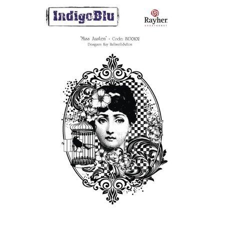 IndigoBlu A6 Sello: Miss Austen, 140x110mm