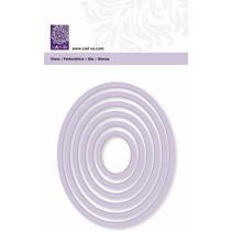 Tapis de coupe, cadre ovale, taille 6