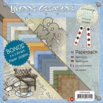 Yvonne Creations - Hommes - bloc de papier