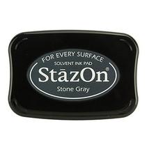 StazOn sello de tinta - Piedra Gris