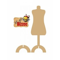 1 mannequin with Stand MDF 291 x 9 mm