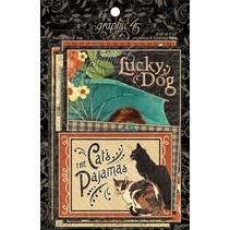 Raining Cats & Dogs - journalisation Cartes & Ephemera