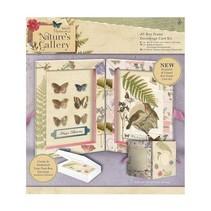 Galerie de la nature - A5 Decoupage Card Kit Box Cadre