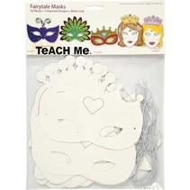 masques de Tale H:. 13,5 à 25 cm, 16 trier, 230 g + Sequin Mix, Taille 15-45 mm