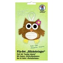 """Felt Craft Kit """"lucky charm"""" owl"""
