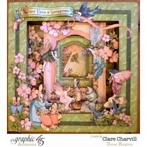 Graphique 45 Once Upon A Springtime, 30,5 x 30,5 cm, Collectionneurs Deluxe Edition