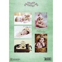 Bilderbogen A4, Vintage Babyer
