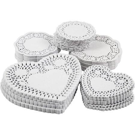 50 napperons sous différentes formes avec de jolis motifs