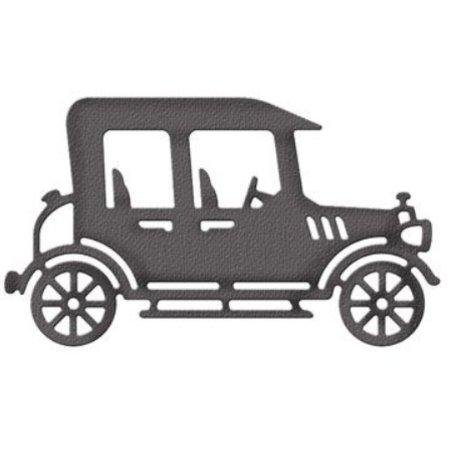 Cottage Cutz Corte y estampación plantillas, CottageCutz, Vintage Car