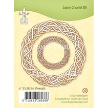 Klare stempler, Leane Creative, Spring krans