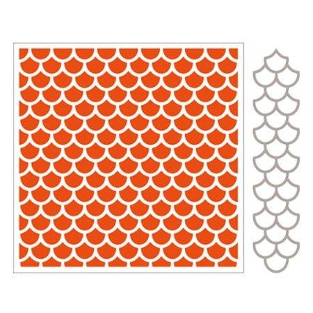 Marianne Design Prægning af mapper + slag skabelon