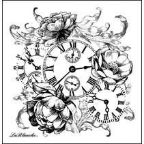 LaBlanche Stamp: Horloge romantique