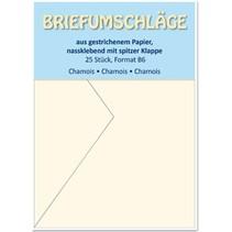 Briefumschläge B6, chamois